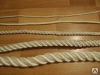 Веревка джутовая для декора деревянного дома диам. 8 мм (в бобинах по 50 м.п.)