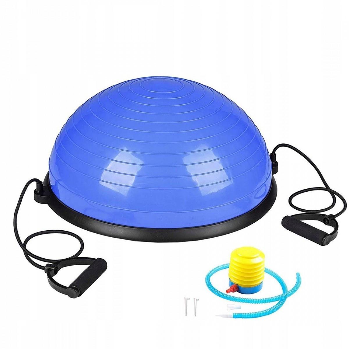 Балансировочная платформа Springos Bosu Ball 57 см BT0001 Blue