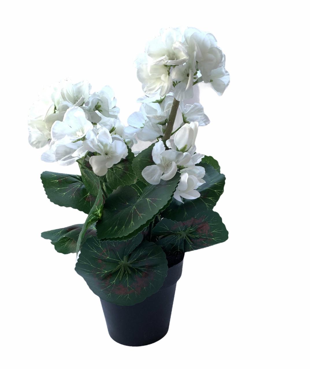 Искусственный цветок в горшке Edeka