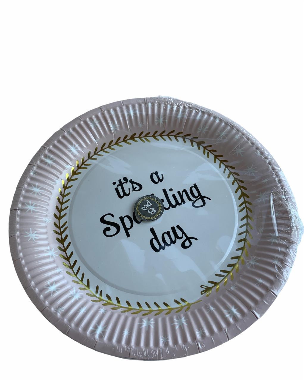 Паперові тарілки Edeka 8 шт