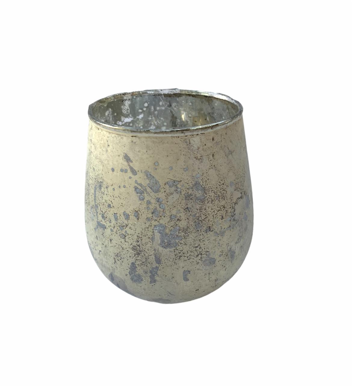 Подсвечник стеклянный для чайной свечи Edeka