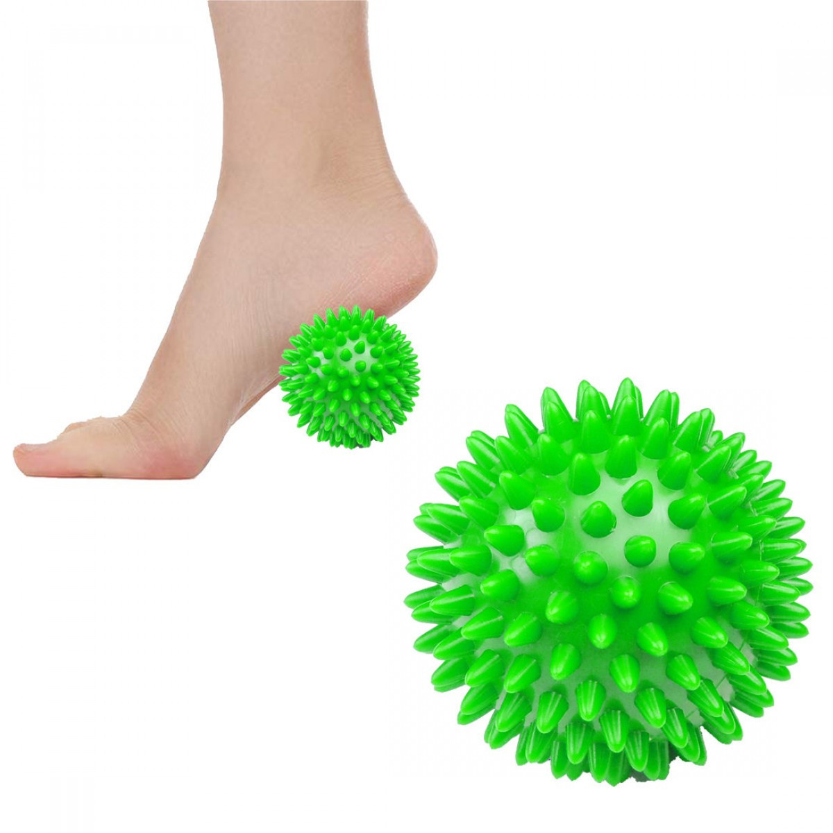 Масажний м'яч з шипами Springos Spike Ball 9 см FA0018