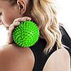 Масажний м'яч з шипами Springos Spike Ball 9 см FA0018, фото 5