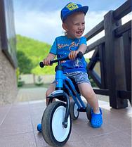 Детский беговел трехколесный Puky Pukymoto blue, Германия