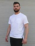 Чоловіча бавовняний футболка з кишенею Сл 2019.2020, фото 2