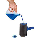 Набор валиков для покраски поверхностей помещений с резервуаром Малярный валик Paint Roller, фото 6