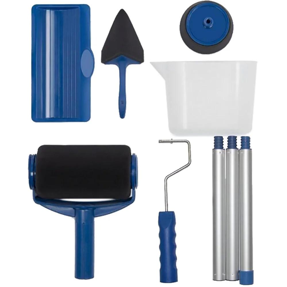Набор валиков для покраски поверхностей помещений с резервуаром Малярный валик Paint Roller