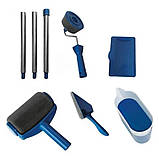 Набор валиков для покраски поверхностей помещений с резервуаром Малярный валик Paint Roller, фото 7