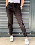 Жіночі брюки літні завужені з льону (Норма, Батал), фото 4