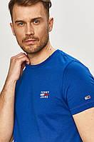 Футболка чоловіча Tommy Jeans, синя томмі джинс, фото 1