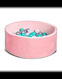 Сухой бассейн с шариками для дома! Персиковый, фото 2