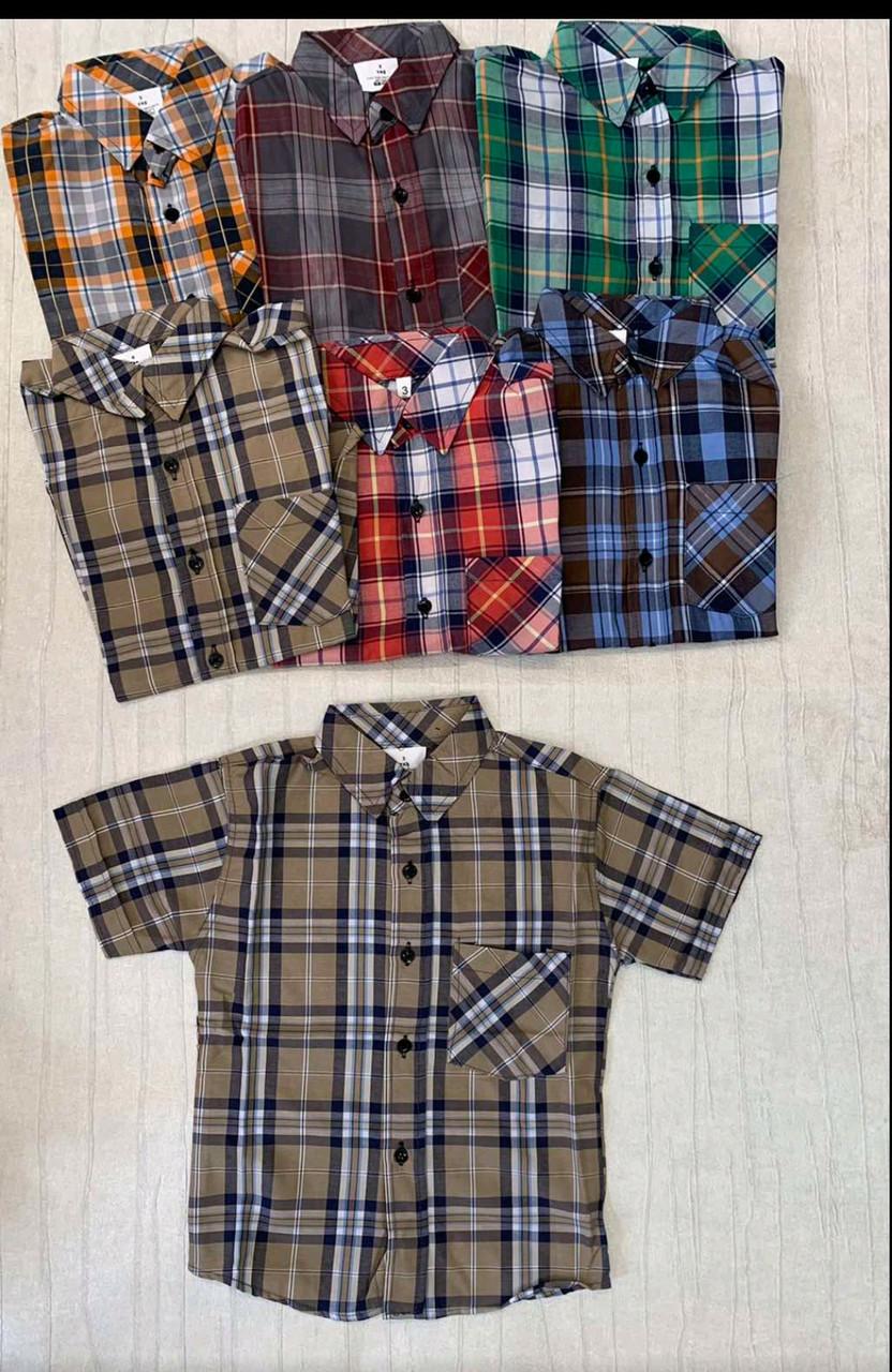 Сорочки для хлопчиків 3-7 років