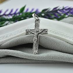 Серебряный крест Спаси и Сохрани размер 33х17 мм вес 2.07 г