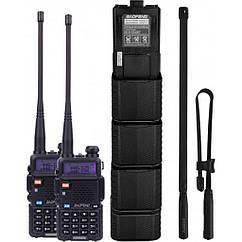 Портативная рация Baofeng UV-5RHC Tactical Black (UV-5RHC_Tactical_Black)