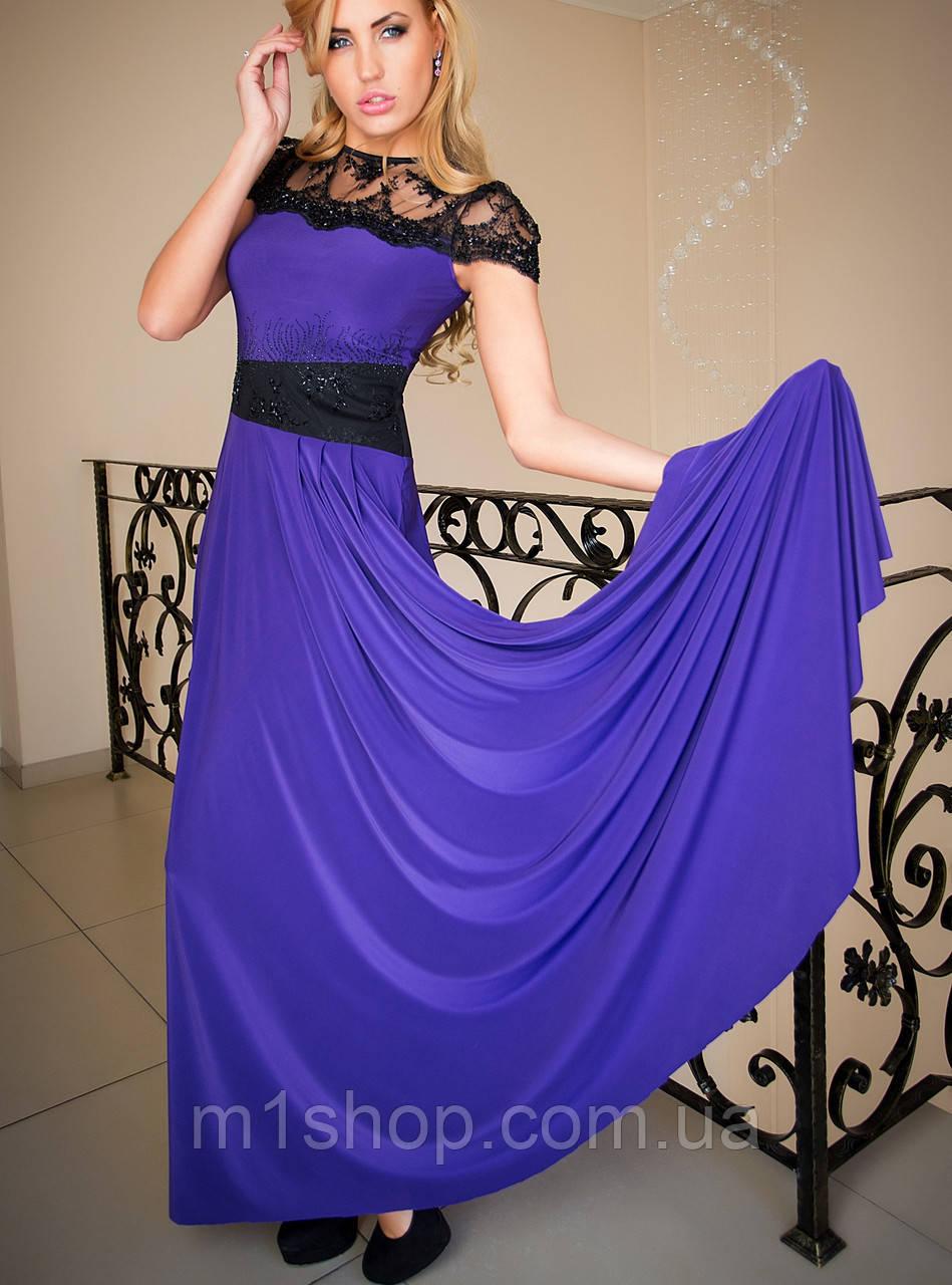 Вечернее платье с гипюром | Анабель lzn