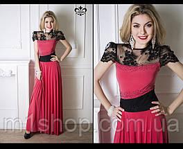 Вечернее платье с гипюром | Анабель lzn, фото 2