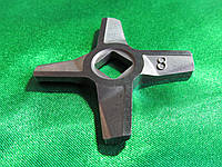 Нож двухсторонний для мясорубки Zelmer NR8 (Зелмер)