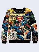 Свитшот мужской 3D DC Comics Superman