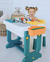Poppet Детский многофункциональный столик Трансформер 6 в1 и стульчик, фото 1
