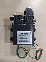 Насос посилений (подвійний) для акумуляторних обприскувачів (12В). KF-3205. Тиск до 8 bar., фото 1