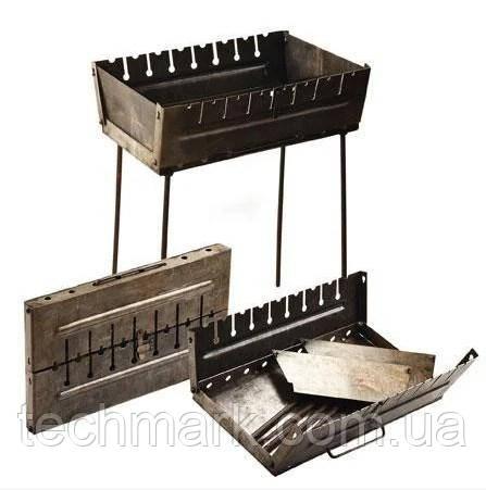 Розкладний мангал - чемодан на 8 шампурів УК-М8