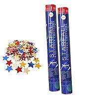 Хлопушка пневматическая 40см Starfall со звездочками 1410804704