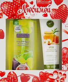 Подарочный набор Bioton Биотон Cosmetics Nature (гель для душа 250 мл +крем для лица и шеи 100 мл)