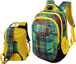 """Рюкзак """"Best Style"""" Разноцветный спортивный, школьный ортопедический Green"""