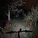 Передняя  велосипедная фара в алюминиевом корпусе + сигнал велофонарь USB, фото 2