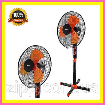 Вентилятор DOMOTEC MS-1619 Standart /16  Кімнатний вентилятор  Підлоговий вентилятор  Вентилятор DOMOTEC
