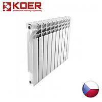 Алюминиевый радиатор KOER 500*96 Чехия