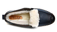 Мужские зимние ботинки-туфли из натуральной кожи. Модель 04109., фото 10