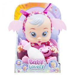"""Плачущий пупс игрушечный """"CRY BABIES"""" (розовый) 195"""