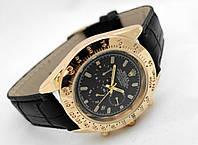Мужские часы Rolex Daytona цвет циферблата и ремешка черный