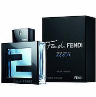 """Мужская туалетная водa  """"Fendi Fan di Fendi pour Homme Acqua"""" объем 100 мл"""