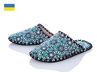 Жіночі тапочки - триугольный мотив, Україна, повсть