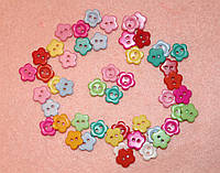 Пуговица Цветочек  585  упаковка 10 шт