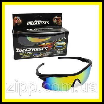 Окуляри сонцезахисні антиблікові Tag Glasses  Антиблікові окуляри для водія  Окуляри для водіння