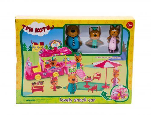 """Ігровий набір """"Три кота: Фургончик з морозивом"""" M-8804 [tri104856-TSI]"""