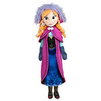 """Кукла Дисней (Disney) Мягкая Игрушка Кукла Анна """"Холодное Сердце"""""""