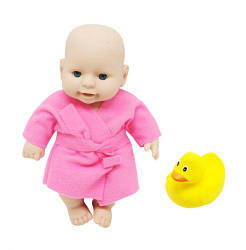 Детский Пупс с утенком, розовый PU02