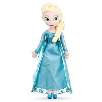 """Кукла Дисней (Disney) Мягкая Игрушка Кукла Эльза """"Холодное Сердце"""""""