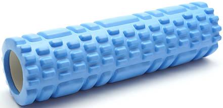 Массажный валик (ролик) для йоги / Зеленый / 29х10 см. - MS 1836-GR, фото 2