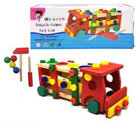 "Конструктор машинка ""Wooden Toy Car"" Д033у [kon126915-TSI]"