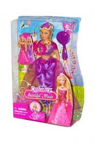 """Музыкальная кукла """"Defa: принцесса"""" (в фиолетовом) 8265 [kuk114354-TSI]"""