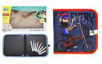 """Книжка-коврик для рисования водными мелками """"Велосипедист"""" RE333-63-66-69-70 [raz144079-TSI]"""