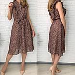 Жіноче плаття шифонова довжини Міді, фото 3