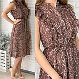Жіноче плаття шифонова довжини Міді, фото 5