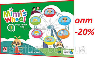 Английский язык / Mimi's Wheel / Pupil's Book with Navio App. Учебник, 1 / Macmillan