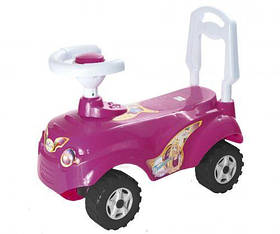 Машинка для катания МИКРОКАР, розовая 157 [kat29609-TSI]